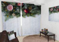 Новогодние шторы2