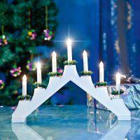 Новогодние светильники горки