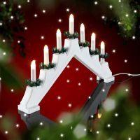 Новогодние светильники горки 4