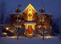 Новогодние украшения для дома8