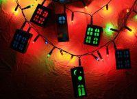 Новогодние украшения для комнаты10