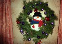 Новогодние украшения для комнаты1