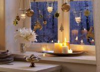Новогодние украшения на окна6