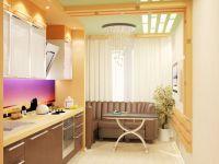 Объединение балкона с комнатой9