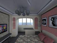 Объединение балкона с комнатой2