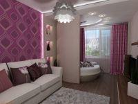 Объединение балкона с комнатой8
