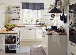 Оформление кухни в частном доме