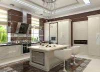 Оформление кухни в частном доме4