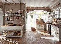 Оформление кухни в частном доме8