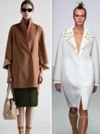 Осенние женские пальто 2014 1