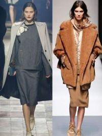 Осенние женские пальто 2014 11