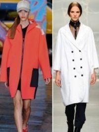 Осенние женские пальто 2014 3