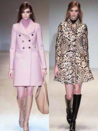 Осенние женские пальто 2014 4