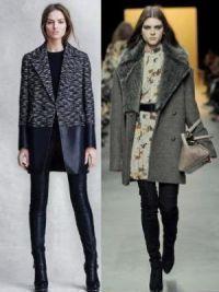 Осенние женские пальто 2014 5