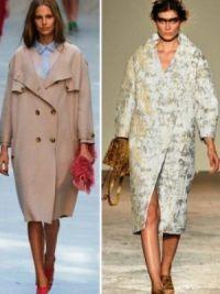 Осенние женские пальто 2014 9