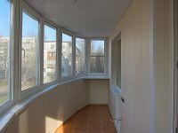 Отделка балкона вагонкой3