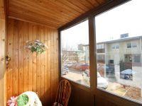 Отделка балкона вагонкой7