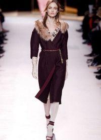 пальто модные тенденции 2014 7