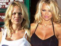 Pamela Anderson fara machiaj 1