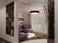 Перегородка в однокомнатной квартире2