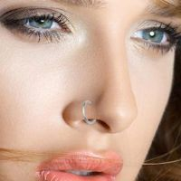Пирсинг носа серьги 3
