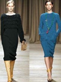 платья мода осень 2014 9