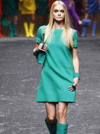 платья мода осень 2014 3