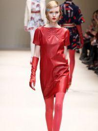 платья мода осень 2014 5