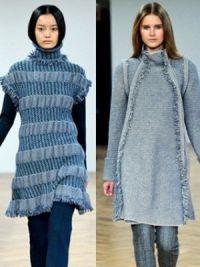 платья мода осень 2014 7