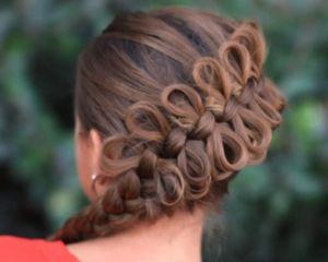 Плетение очаровательной косы
