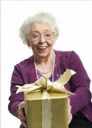 Подарок бабушке на Новый год1