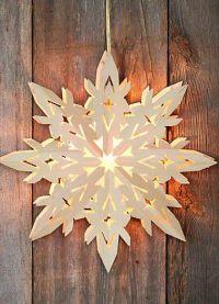 2 поделки рождественская звезда