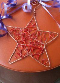 5 поделки рождественская звезда