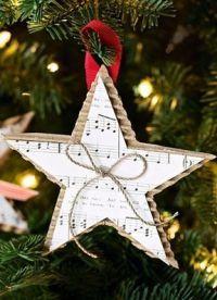 6 поделки рождественская звезда