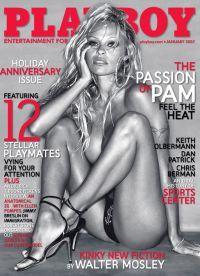 Андерсон на обложке номера Playboy, вышедшего в 2007 году
