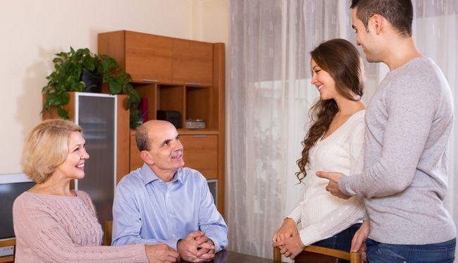 Как да се подготвите да се запознае с родителите си?