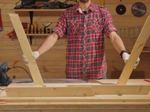 Раскладной стол своими руками1