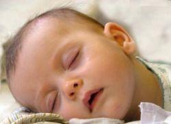 dijete znojenje za vrijeme spavanja