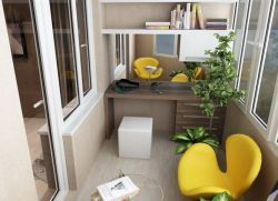 Ремонт на балконе - идеи дизайна