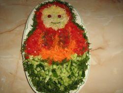 салат из овощей для детей