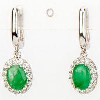 Srebrne naušnice sa smaragda 7