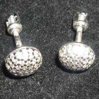 Srebrne naušnice s kamenjem 6