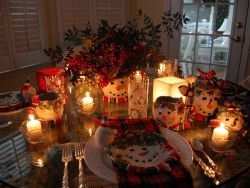 Как сервировать стол новогодний