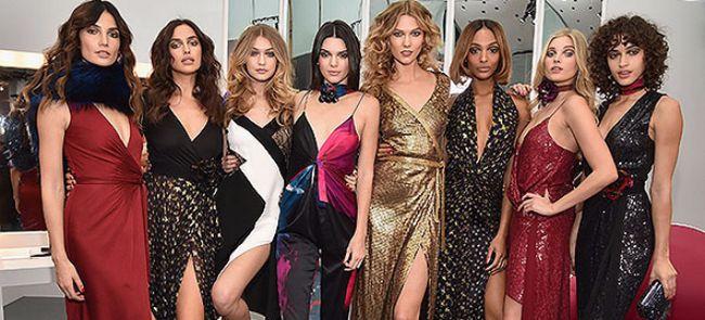 Lily Aldridge, Irina Shayk, Gigi Hadid, Kendall Jenner, Karlie Kloss, Iordania Da