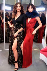 Irina Shayk și Lily Aldridge în costumele din noua colectie