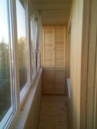 Шкаф на балкон 9