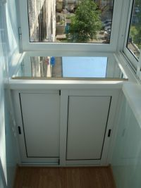 Шкаф на балкон 4