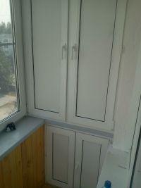 Шкаф на балкон 5