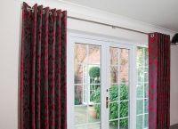 Шторы в гостиную с балконом (3)