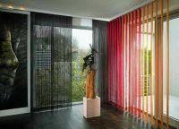Шторы в гостиную с балконом (5)